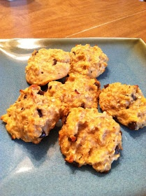 Fit this, girl!: Recipe: Banana bread breakfast cookies