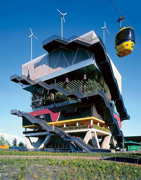 WERELDTENTOONSTELLING - MVRDV: Nederlandse paviljoen, Hannover, 2000.
