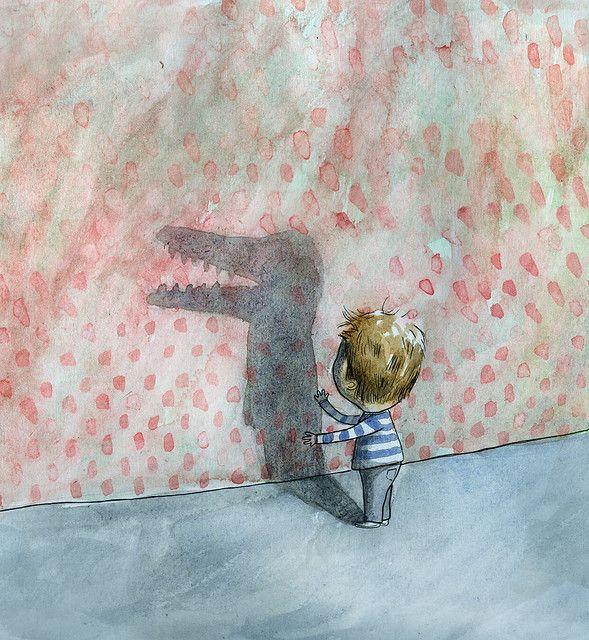 shadow-puppet by Matt the illustrator, via Flickr