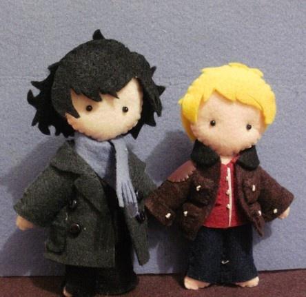 Felt Sherlock! Omg adorable!