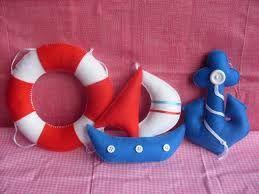 Resultado de imagem para bonecos de marinheiro de feltro