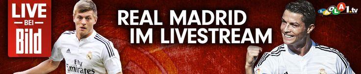 Primera Division: Sehen Sie alle Spiele von Real Madrid bei BILD.de im LIVESTREAM -  Jetzt live aus Spanien - Real Madrid - FC Valencia - Die Königlichen brauchen im Spitzenspiel gegen Valencia dringend einen Sieg, um noch eine Chance auf den Titel zu haben.  http://www.bild.de/sport/laola-spanische-liga-primera-division/real-madrid/real-madrid-livestream-neu-37485166.bild.html It ended with 2:2, Real fought back after Valencia leading with 0:2