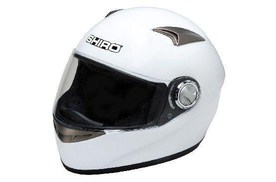 Shiro Helmet SH-338, un casco de fibra de carbono, con una más que conseguida aerodinamica, disponible en blanco y negro. Mas detalles en http://shirohelmet.com/es/casco/6-monocolor-racing-shiro-helmet-sh-338-cod.706.html