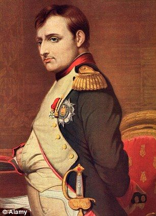 Last stand: French emperor Napoleon Bonaparte, who returned from exile to fight the battle in a bid to regain dominance of Europe , was defeated by Dutch, Prussian and British troops led by the Duke of Wellington.