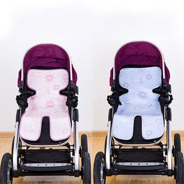 Comfy Cartoon Carriage Pushchair Seat Car Seat Stroller Baby Infant Trolley Cool Liners Ice Mat Pad Cushion 2020 유모차 아기 색깔
