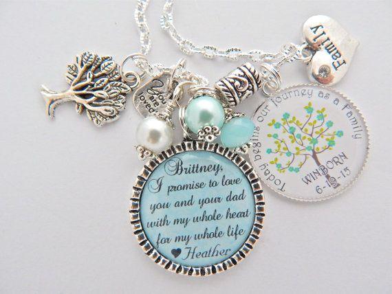 STEP DAUGHTER Wedding Gift Step Daughter Bracelet Brides