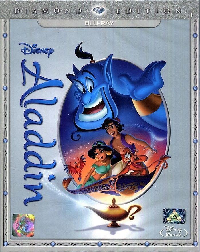 Aladdin [Blu-ray Region 'A'] (2015) Diamond Edition - Disney Family Classic  | eBay