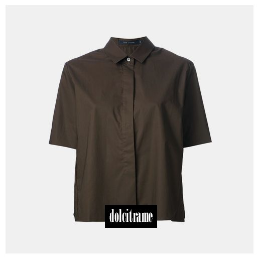 SOFIE D'HOORE loose fit shirt  Shop on dolcitrameshop.com #sofiedhorre #ss14 #newin #newarrivals #womenswear #womenstyle #ootd #shirt #dolcitrame