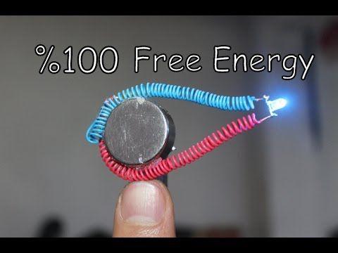 Free Energy Generator, Resonator used as Free Energy Light Bulb - YouTube