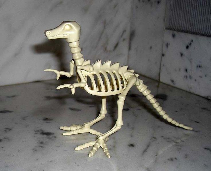 Playmobil Tier Dinosaurier Skelett Dinos Dinoforscher