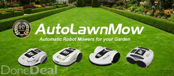 Special Low Price Deals on all New Automatic Lawn Mowers.Ireland's leading supplier of Automatic Garden Lawn Mowers launched its 2016 range of automatic lawn mowers. Special Spring offers at prices never seen before. Save time and money and enjoy more free time this summer with a new Genie Automatic Garden lawn mower. For the best deals on automatic lawn mowers visit AutoLawnMow website today and check out our lowest price deals ever.Our automatic Lawn mower range can mow any size lawn…