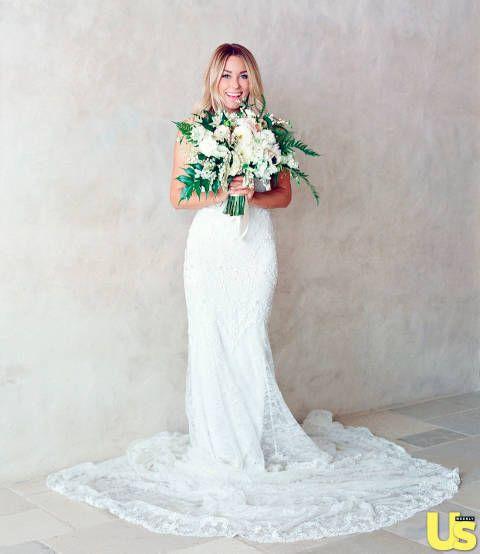 Lauren Conrad Wedding Bouquet