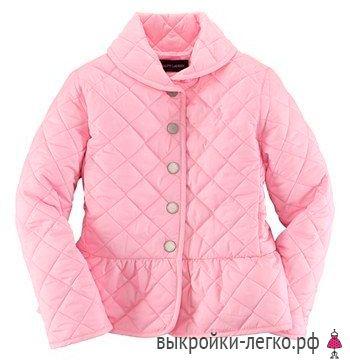 Куртка для девочки. Инструкция по распечатке выкроек и пошиву | Шить просто — Выкройки-Легко.рф