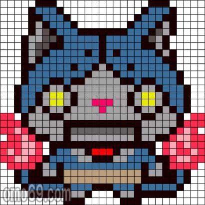 Pixel Art Yo Kai Watch Gamboahinestrosa