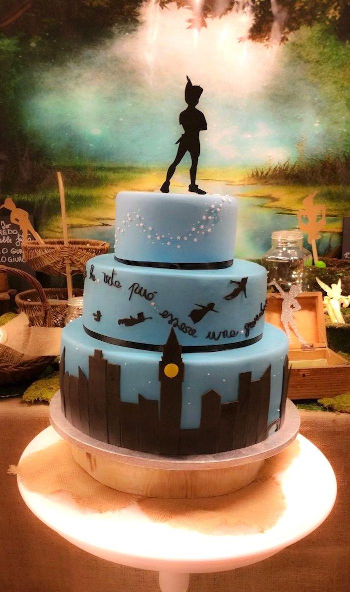 Peter Pan Neverland Party Peter Pan Cakes Peter Pan Party