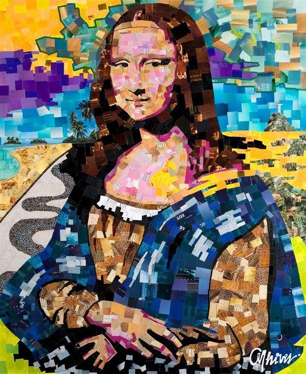 Monalisa [Anderson Thives] (Gioconda / Mona Lisa)