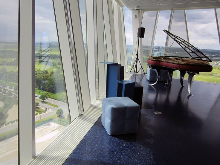 Simpel and elegant space heating solutions by Meinertz at the Bella Sky Hotel in Copenhagen.