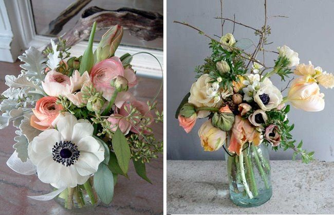 anemones wedding bouquet are so beautiful. Follow #Labola.co.za for more tips and trends