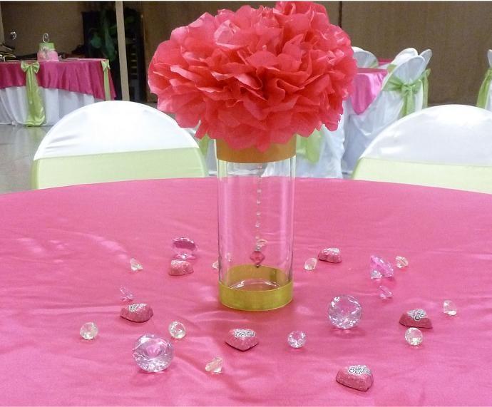 160 Best Wedding Bridal Shower Centerpieces Images On