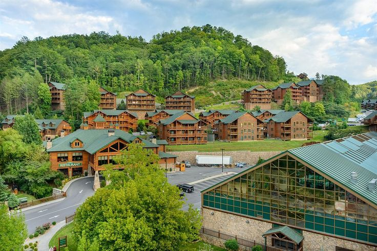 Westgate Smoky Mountain Resort and Spa This is a stunning view of Gatlinburg and one that you can fall in love with time and time again.