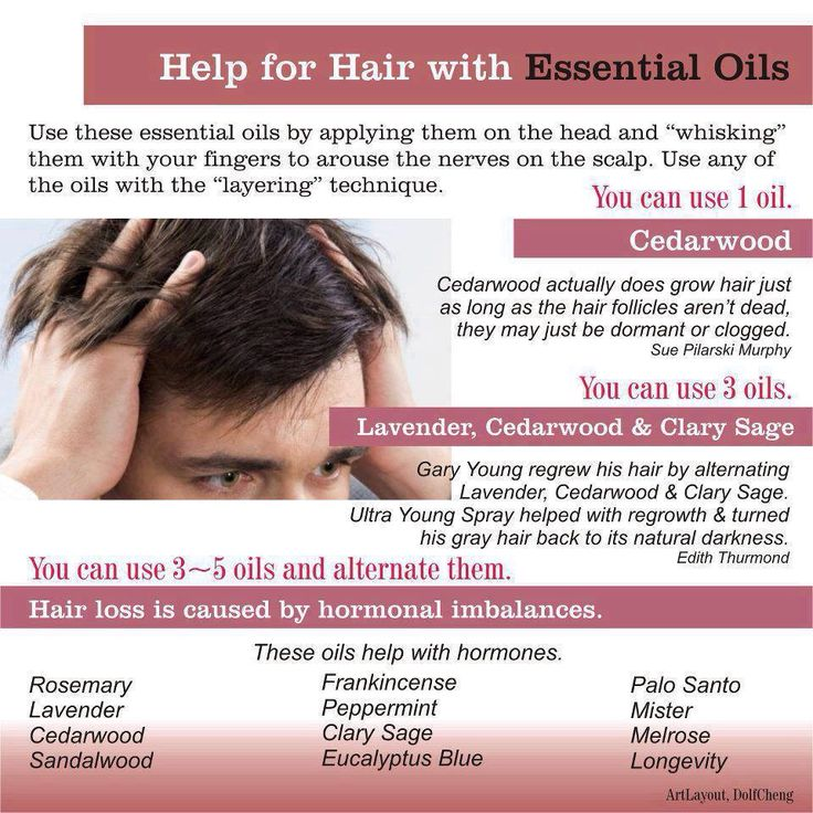 Help For Hair with Essential Oils