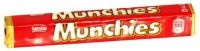 £0.59 - Nestle Munchies 52g    Milk chocolate with soft caramel and crisp biscuit centre.