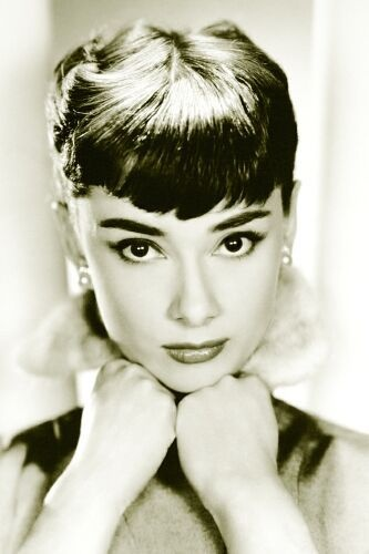Short bangs: if they're good enough for Audrey, they're good enough for me.