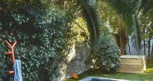 17 schöne Ideen von Gartenbrunnen aus Ziegeln, Holz und Kieselsteinen: Praktis …