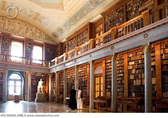 Pannonhalma Archabbey's Library, UNesco World Heritage