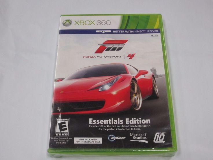 Forza 4 Essentials Edition XBOX 360 **BRAND NEW & SEALED**