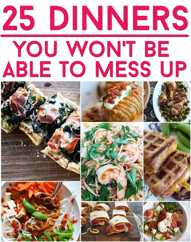 25 Easy Dinners That Absolutely Anyone Can Make @buzzfeedfood