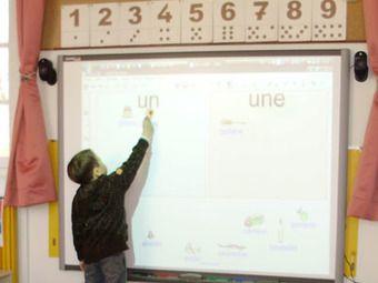 L'École numérique » Des exercices pour TBI en maternelle et CP   Primary French Immersion Education   Scoop.it