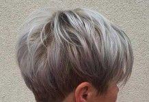 10+ Short Pixie Haircuts for Gray Hair