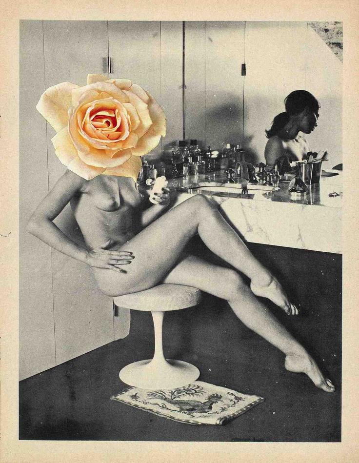 LINDER Linda Mulvey collage mixed media #artiste #contemporain