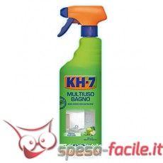 KH-7 MULTIUSO BAGNO SPRAY 750ML KH-7 Bagno è un detergente per una pulizia pratica ed efficace di tutti i giorni, che lascia nel tuo bagno un piacevole aroma. http://www.spesa-facile.it/detergenti-superfici