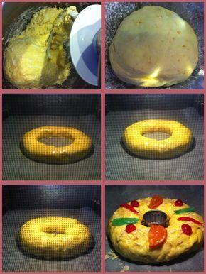 Paso a paso Roscon de Reyes sin Gluten