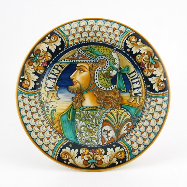 Intricate art on this Italian pottery by Alvaro Binaglia
