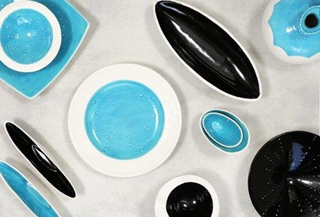 Kina hand made ceramic range in NZ. These items make the perfect centrepiece and are also functional