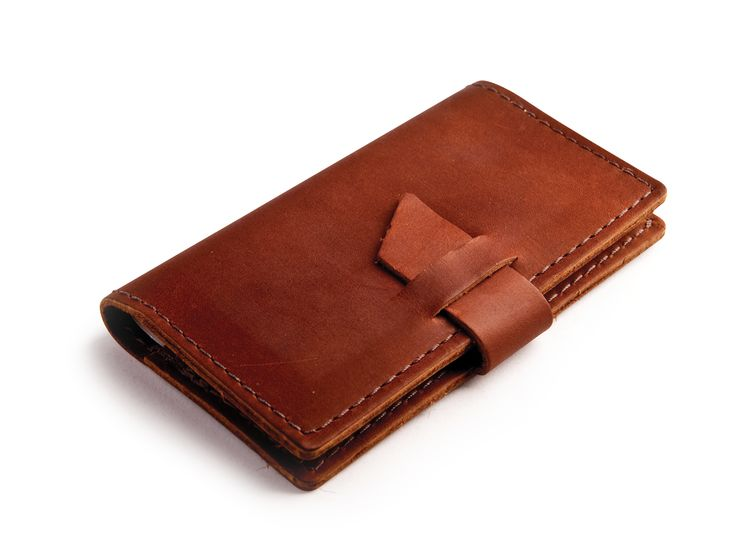 Rustico Leather Checkbook Cover