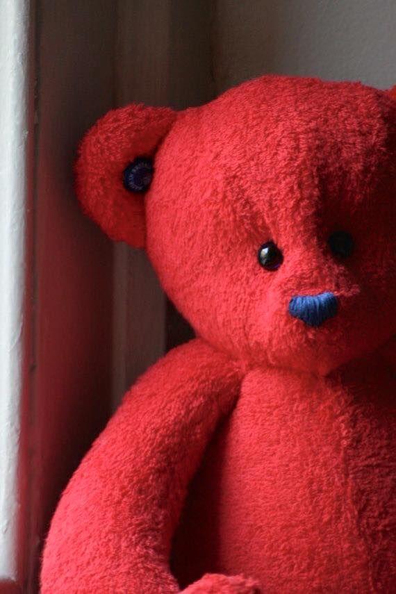 Stuffed Red Teddy