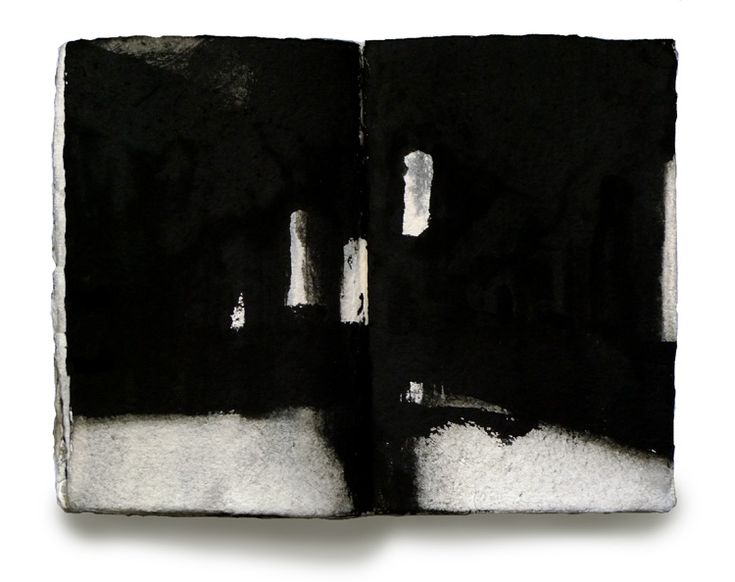 Miklós Szüts: diary 1944 (13), aquarell, paper, 21 x 31 cm