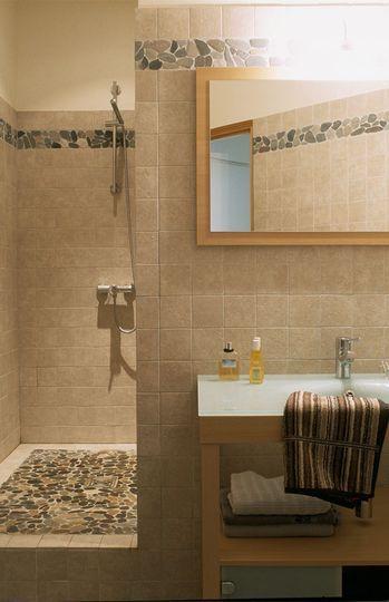 59 best Badezimmer images on Pinterest Bathroom, Bathrooms and For - teck salle de bain sol