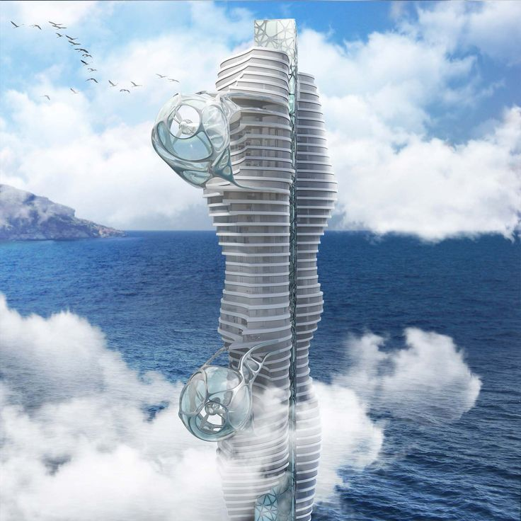 Wind Tower by Peter Stasek Architects - Corporate Architecture