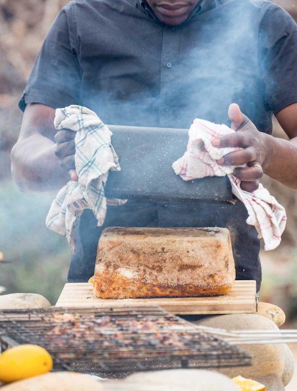 Justin Bonello's mielie bread Crush 54