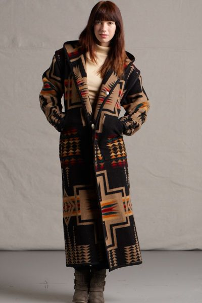 15% off Sale going on now at Kraffs - who make custom Pendleton blanket Wool Coats for Men & Women - including handbags and totes