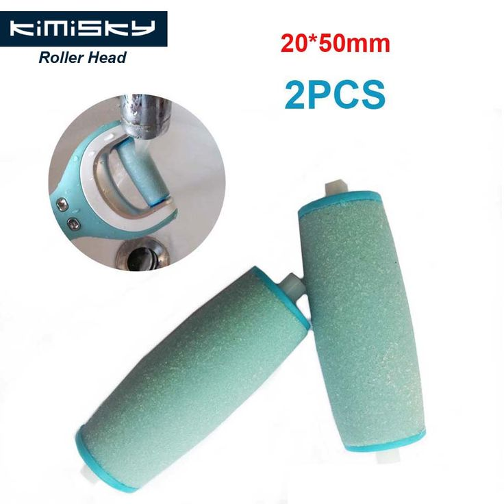 2Pcs Blue Foot care tool roller Heads Kimisky pedicure herramientas hard roller Heads for scholls size  Free Shipping