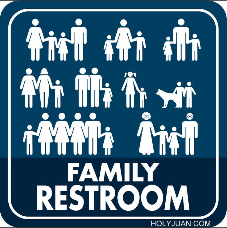 All Inclusive Family Restroom Sign. 17 Best images about Restrooms on Pinterest   Toilets
