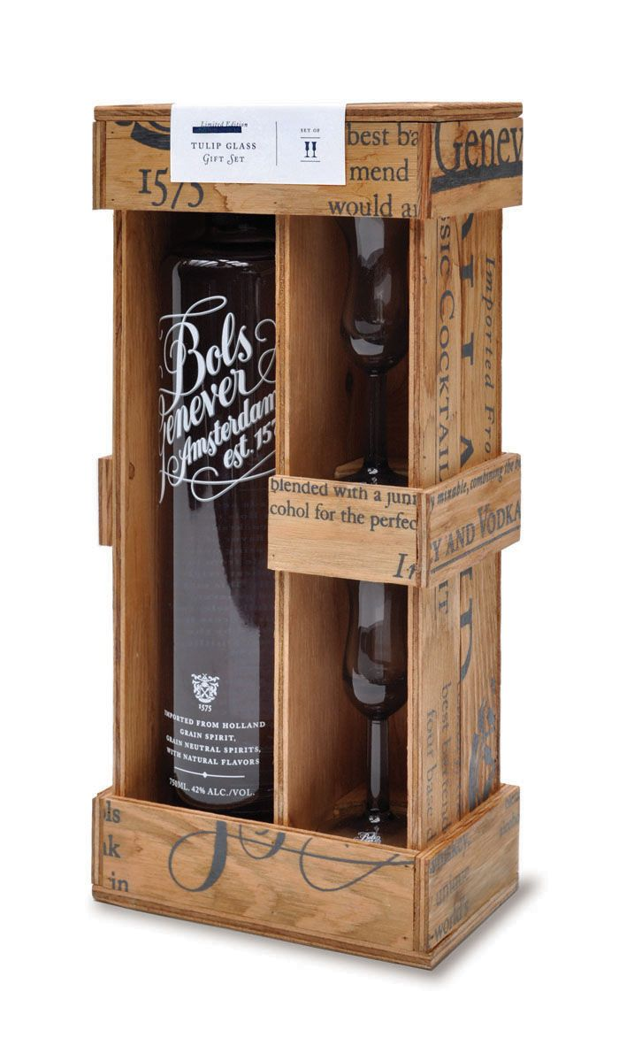 Bols Genever Gift Box - The Dieline -