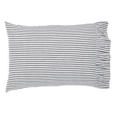 Josephine Black Pillow Case - Set of 2