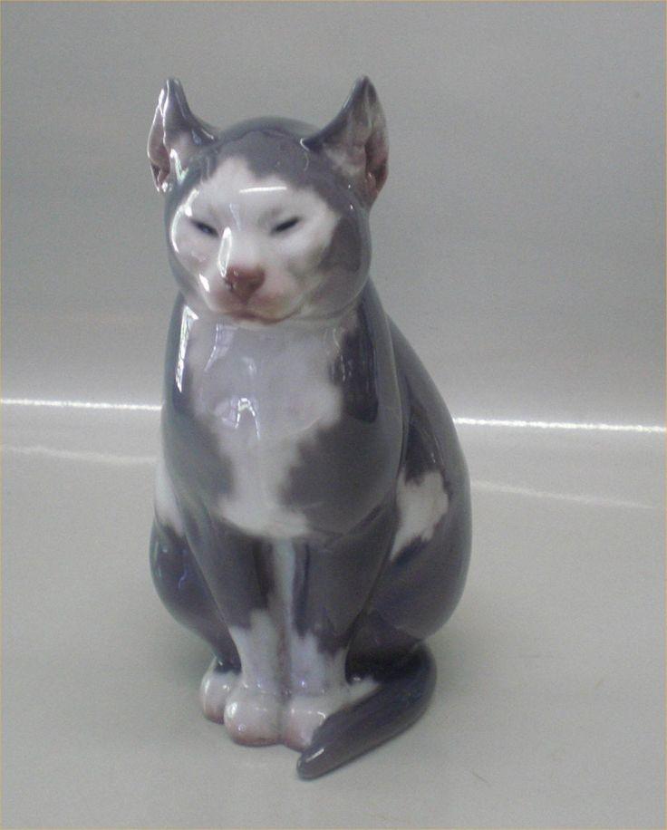 Dahl Jensen 1127 Cat Sitting CJB 18 cm Design Carl Johann Bonnesen | eBay